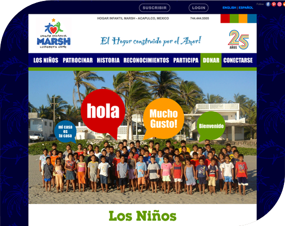 Marsh Children's Home - Digital Branding